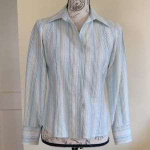 Ann Taylor Loft 4p dress shirt like new